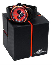 Load image into Gallery viewer, Adee Kaye ak7141-IPB/MESH/OR Brand New Quartz date Watch