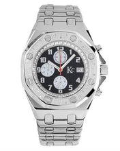 Load image into Gallery viewer, KC WA007957 Brand New Japan Quartz date Watch with 0.048ctw diamond