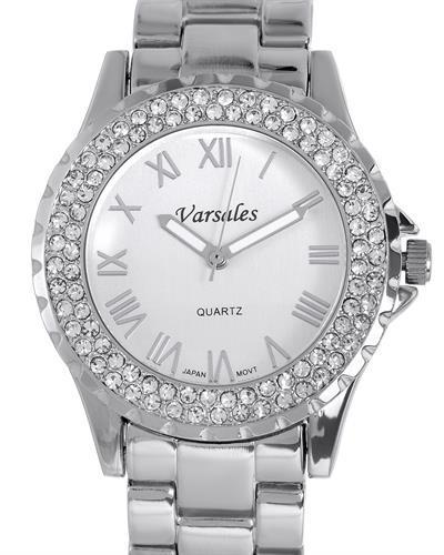 Varsales V5339-1 Brand New Japan Quartz Watch with 0ctw crystal
