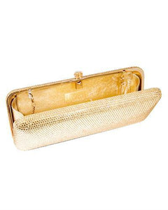 Dolli Lilac Brand New Clutch with 0ctw crystal  Yellow base metal