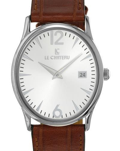 LC le Chateau LC-2672MSV Brand New Japan Quartz date Watch