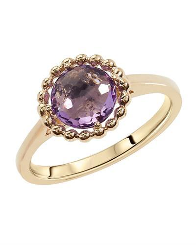 Brand New Ring with 1.3ctw amethyst 10K Yellow gold