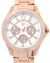 Load image into Gallery viewer, KC Brand New Japan Quartz day date Watch with 0ctw crystal