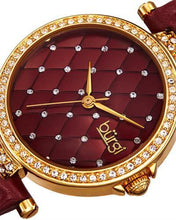 Load image into Gallery viewer, burgi BUR154BU Brand New Quartz Watch with 0ctw crystal