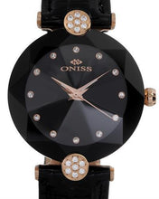 Load image into Gallery viewer, Oniss ON8776-LRGBK PARIS Brand New Swiss Quartz Watch with 0ctw crystal