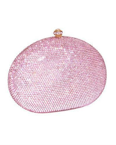 Dolli Rose Brand New Clutch with 0ctw crystal  Rose base metal