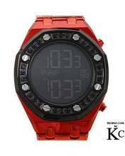Load image into Gallery viewer, KC WA005735 Brand New Quartz day date Watch with 2.25ctw diamond