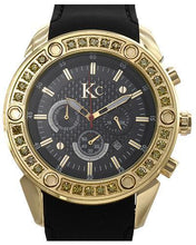 Load image into Gallery viewer, KC WA006354 Brand New Quartz date Watch with 3.2ctw diamond