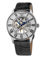 Load image into Gallery viewer, Akribos XXIV AK499SS Brand New Mechanical Watch with 0.02ctw diamond
