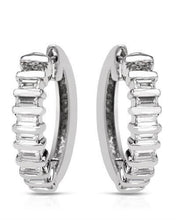 Load image into Gallery viewer, Brand New Earring with 0.5ctw diamond 900 Platinum platinum