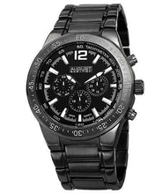 Load image into Gallery viewer, AUGUST Steiner AS8128BK Brand New Swiss Quartz day date Watch