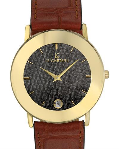 LC le Chateau LC-955MGBKP Brand New Japan Quartz date Watch