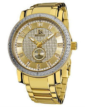 Load image into Gallery viewer, Joshua & Sons JS-20-YG Brand New Quartz Watch with 0.06ctw diamond