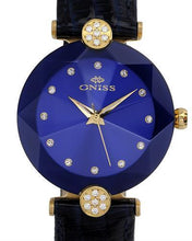 Load image into Gallery viewer, Oniss ON8776-LGBU PARIS Brand New Swiss Quartz Watch with 0ctw crystal