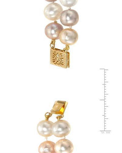PEARL LUSTRE Brand New Necklace with 0ctw pearl 14K Yellow gold