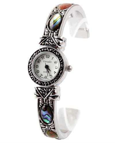 Varsales Brand New Japan Quartz Watch with 0ctw multi gems