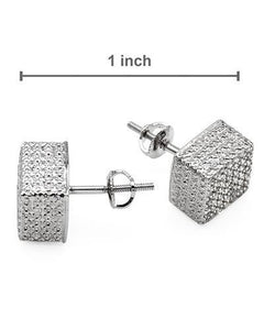 Lundstrom Brand New Earring with 0.55ctw diamond 925 Silver sterling silver