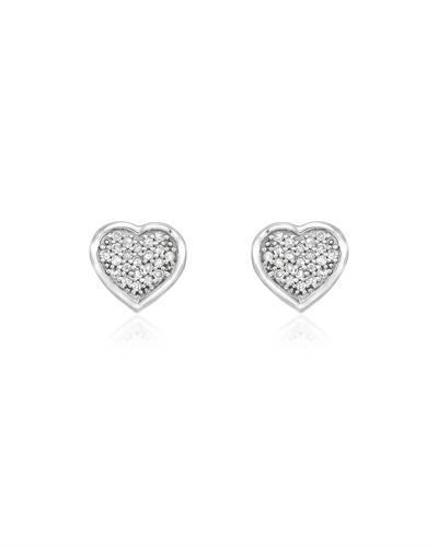 Brand New Earring with 0.16ctw diamond 14K White gold
