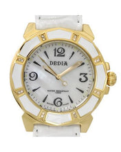 Load image into Gallery viewer, DEDIA 6201LL025 Lily L Brand New Swiss Movement Watch with 0.08ctw of Precious Stones - diamond and mother of pearl