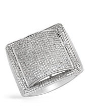 Load image into Gallery viewer, Lundstrom Brand New Ring with 1.4ctw diamond 10K White gold