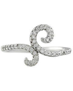0.40 Carat 14K White Gold Diamond Ring