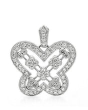 Load image into Gallery viewer, Brand New Pendant with 0.58ctw diamond 14K White gold