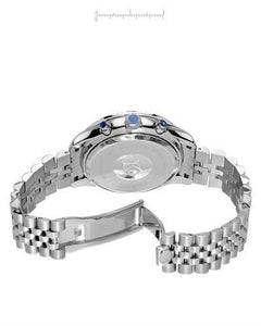KC Brand New Japan Quartz date Watch with 0.072ctw diamond
