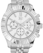 Load image into Gallery viewer, KC Brand New Japan Quartz date Watch with 0.072ctw diamond