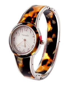 Varsales Brand New Japan Quartz Watch with 0ctw shell