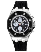 Load image into Gallery viewer, KC Brand New Japan Quartz date Watch with 0ctw crystal