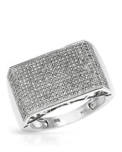 Load image into Gallery viewer, Lundstrom Brand New Ring with 1.2ctw diamond 10K White gold