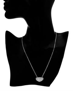 Brand New Necklace with 1ctw diamond 925 Silver sterling silver
