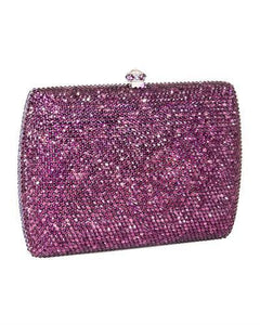 Dolli Sage Brand New Clutch with 0ctw crystal  Metallic base metal