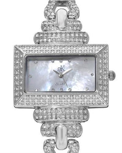 Adee Kaye AK19-L Brand New Japan Quartz Watch with 0ctw crystal