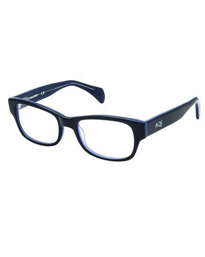 AQS OTB003 Navy Blue Tobi Brand New Eyeglasses  Orange plastic