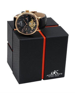 Adee Kaye ak7117-MRG/BK Brand New Automatic Watch