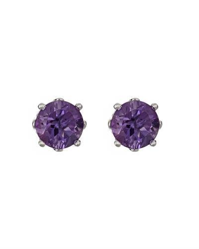 Brand New Earring with 0.92ctw amethyst 925 Silver sterling silver