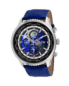 SEAPRO Meridian World Timer GMT Brand New Quartz multifunction Watch