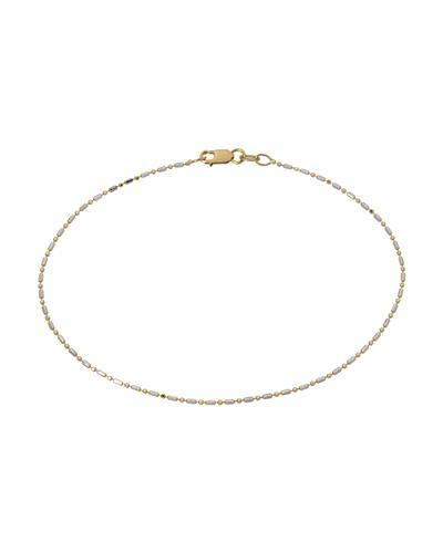 Millana Brand New anklet 14K Two tone gold