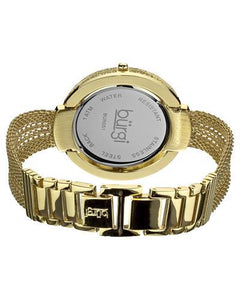 burgi BUR051 Brand New Quartz Watch with 0ctw crystal
