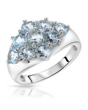 Load image into Gallery viewer, Brand New Ring with 2.88ctw topaz 925 Silver sterling silver