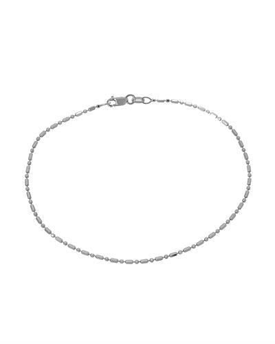 Millana Brand New anklet 14K White gold