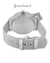 Load image into Gallery viewer, Adee Kaye ak7285-MT/MESH/SI Brand New Quartz date Watch