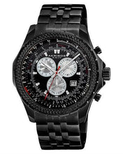 Load image into Gallery viewer, Akribos XXIV AK517BLK Brand New Swiss Quartz date Watch