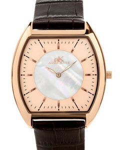 Adee Kaye AK2200 Brand New Japan Quartz Watch with 0ctw mother of pearl