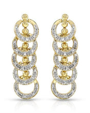 Load image into Gallery viewer, Brand New Earring with 0.45ctw diamond 10K Yellow gold