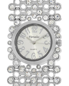 Varsales V4234 Brand New Japan Quartz Watch with 0ctw crystal