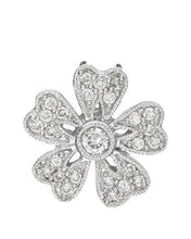 Load image into Gallery viewer, Brand New Pendant with 0.27ctw diamond 14K White gold