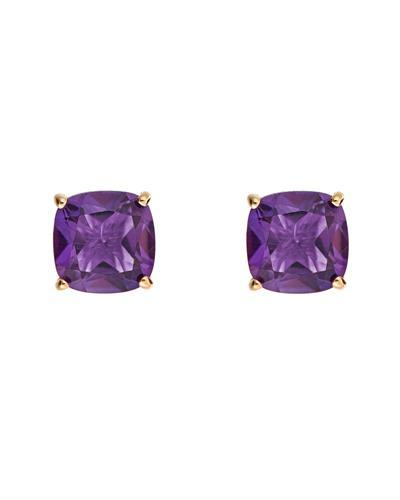 Brand New Earring with 2.88ctw amethyst 14K Yellow gold