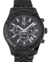 Load image into Gallery viewer, KC Brand New Quartz date Watch with 1.75ctw diamond